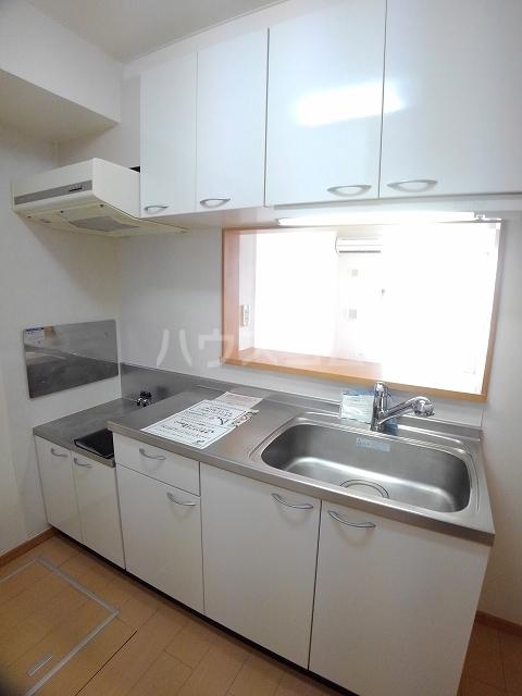 メゾン ド ソレイユ B 01020号室のキッチン