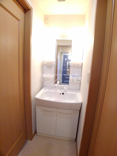 メゾン ド ソレイユ B 01020号室の洗面所