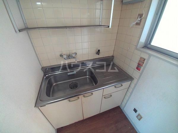 コーポチェリー 102号室のキッチン