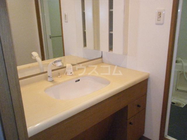 ルイシャトレ百草園ヒルズB棟 7F号室の洗面所