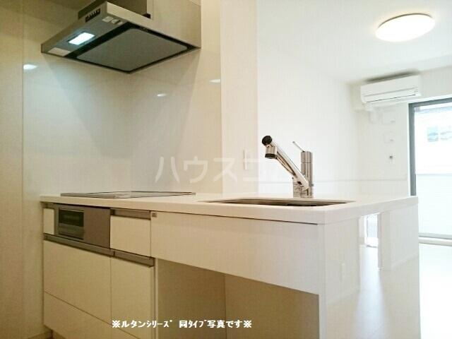 カーサ アルソーレ 02020号室のキッチン