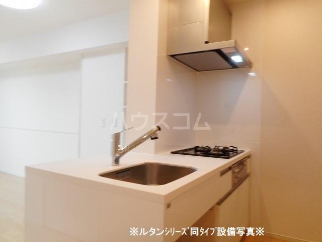 グランド・ヴィラ 01020号室のキッチン