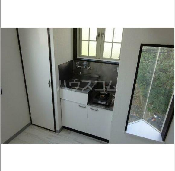 ライフピアリバティ 201号室のキッチン