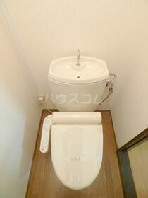 コーポ向山A 106号室のトイレ