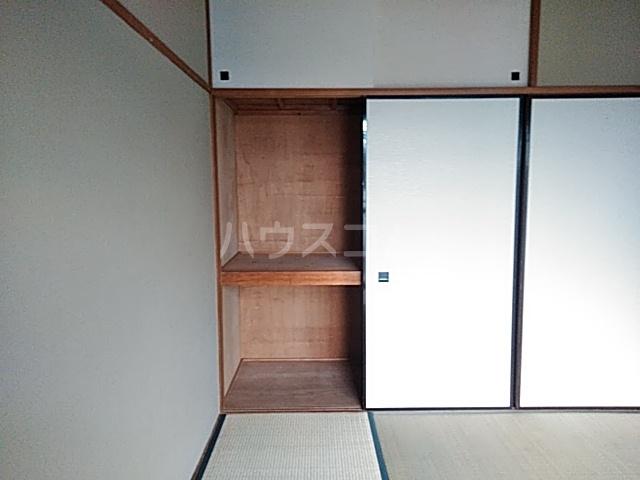 カーサみどり台 B棟 201号室の収納