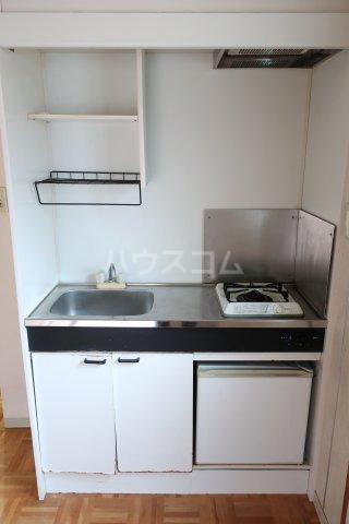 若草荘 303号室のキッチン