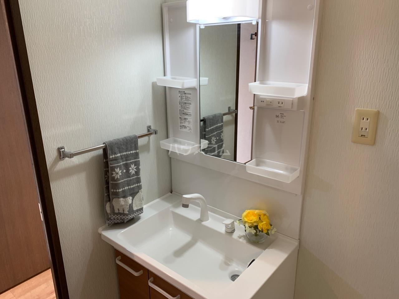 グランドエンブレム横浜 404号室の洗面所