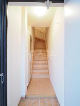 チヨ タウンC 02020号室の玄関