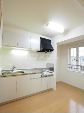 チヨ タウンC 02020号室のキッチン