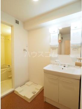 チヨ タウンC 02020号室の洗面所