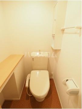 チヨ タウンC 02020号室のトイレ