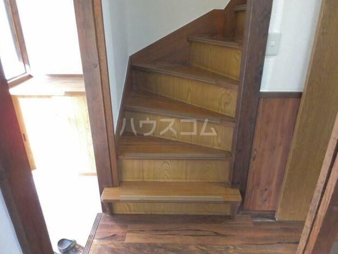 篠籠田貸家の玄関