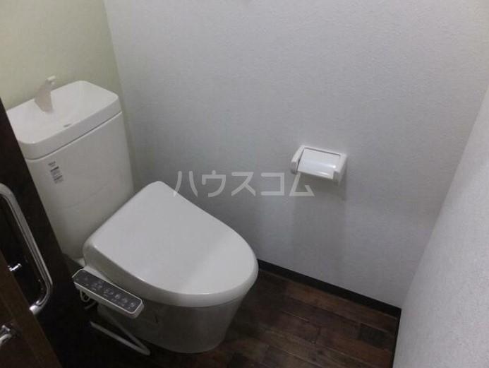 篠籠田貸家のトイレ