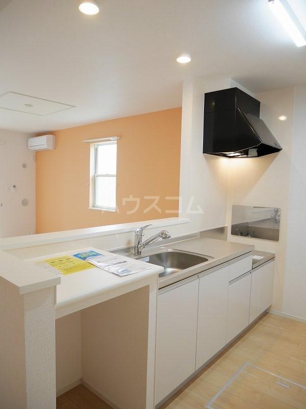 ロックヴィレッジⅠ 01010号室のキッチン