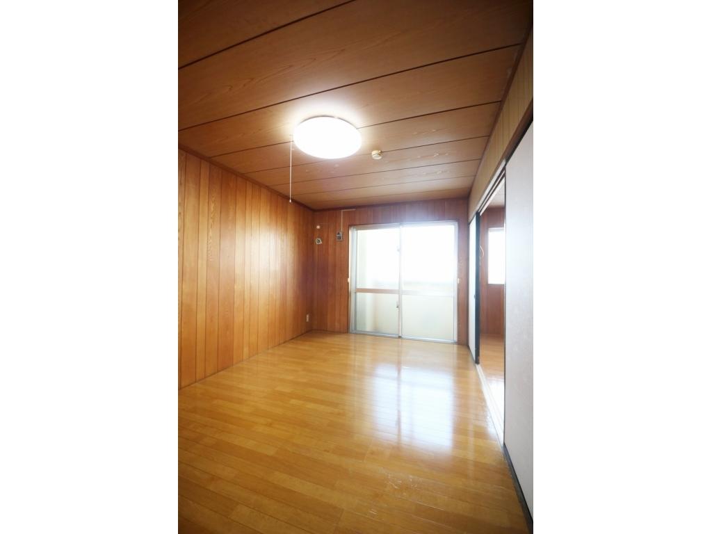 丸豊商事ビル6 4-B号室のバルコニー