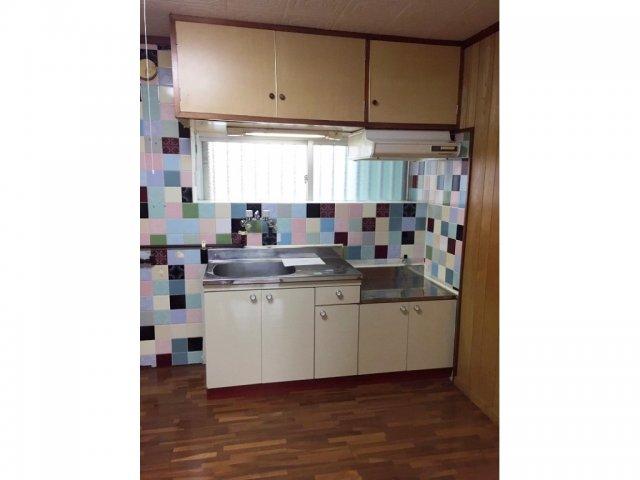 丸豊商事ビル6 4-B号室のキッチン