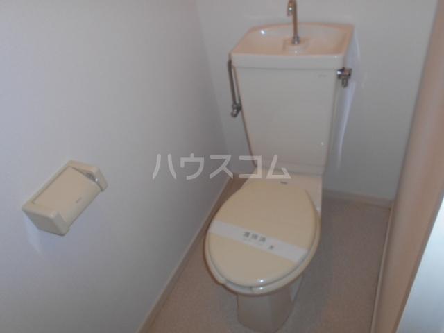 ファミリーコーポ笈川B 201号室のトイレ