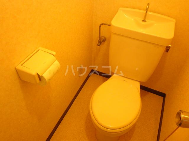 ベレーザ 407号室のトイレ