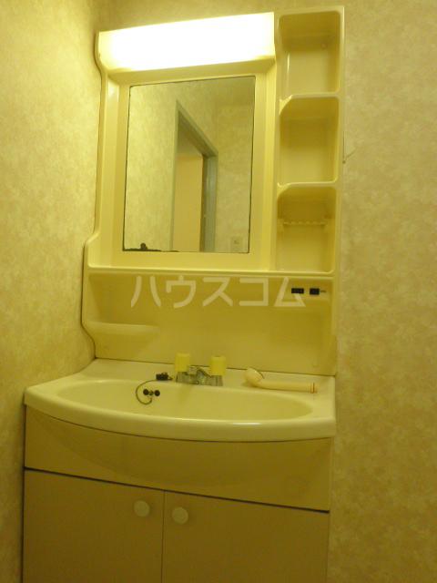 ベレーザ 407号室の洗面所
