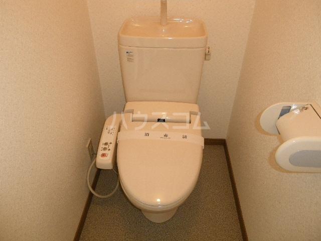 City heightsビオラB 101号室のトイレ