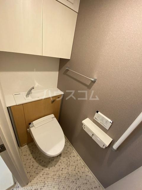 サン・リグノ 01030号室のトイレ