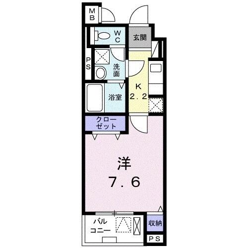 サン・リグノ・03020号室の間取り