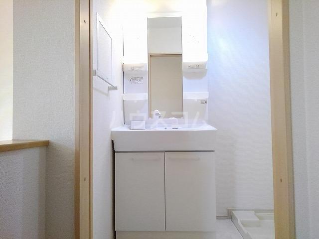 ヒル ヴィレッジ 02020号室の洗面所