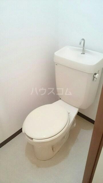 ハイツイチハラB 02030号室のトイレ