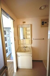 サカエハイツ 0305号室の洗面所