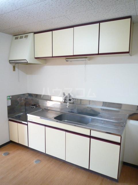 マンション裕 202号室のキッチン