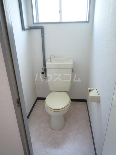 マンション裕 202号室のトイレ