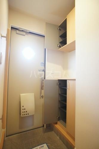 フランデスポワール 102号室の玄関