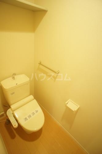フランデスポワール 102号室のトイレ