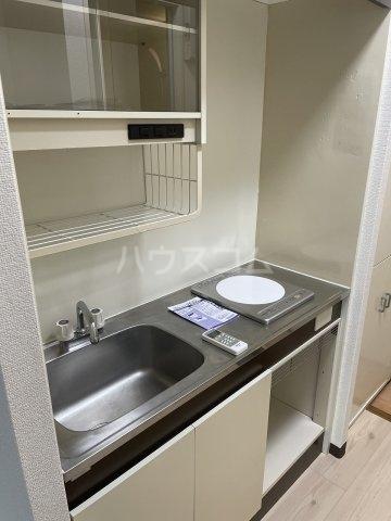 コーポアルプ 105号室のキッチン