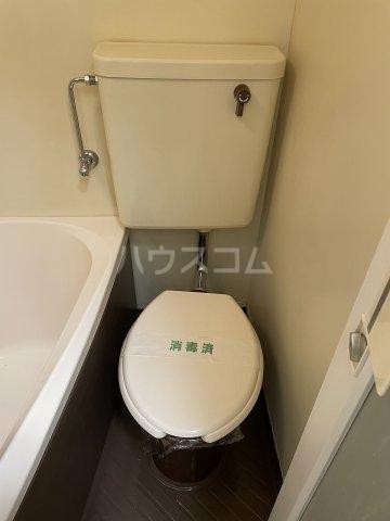 コーポアルプ 105号室のトイレ