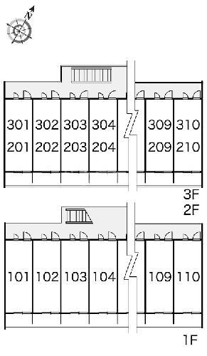 レオパレスWINS寺尾 303号室のその他