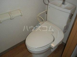 KING'S  COAT 210号室のトイレ