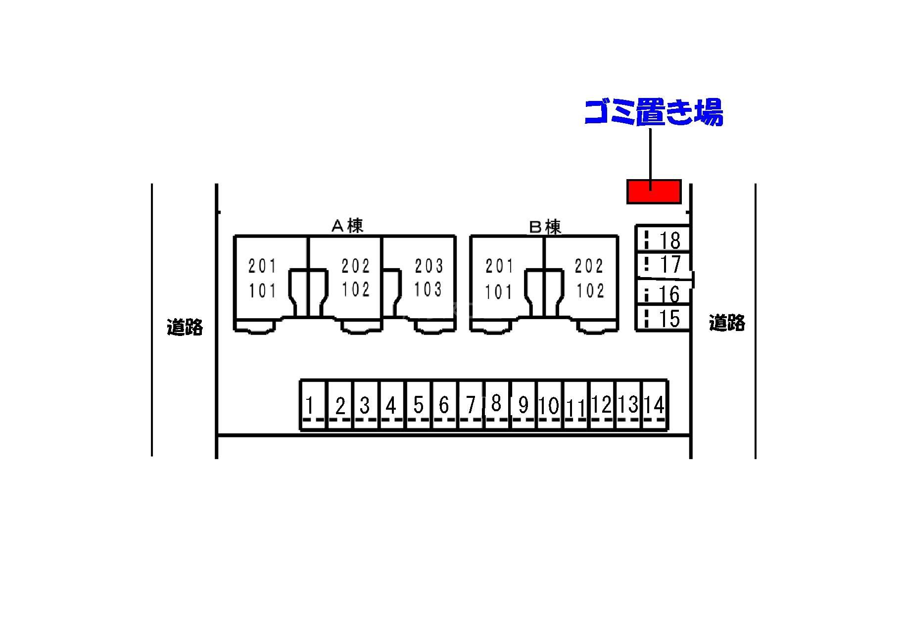 プリムロ-ゼ B 02020号室のその他