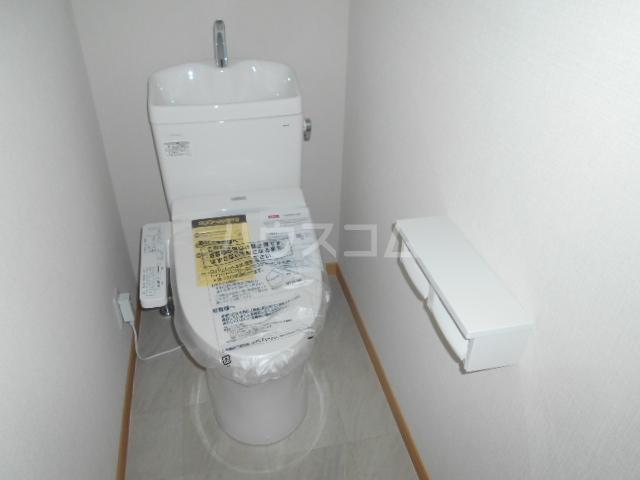 クオーレ鴨宮T棟のトイレ