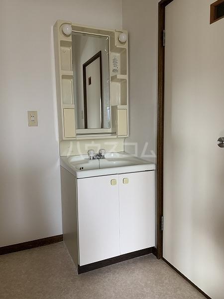 クリフ若木Ⅱ 201号室の洗面所