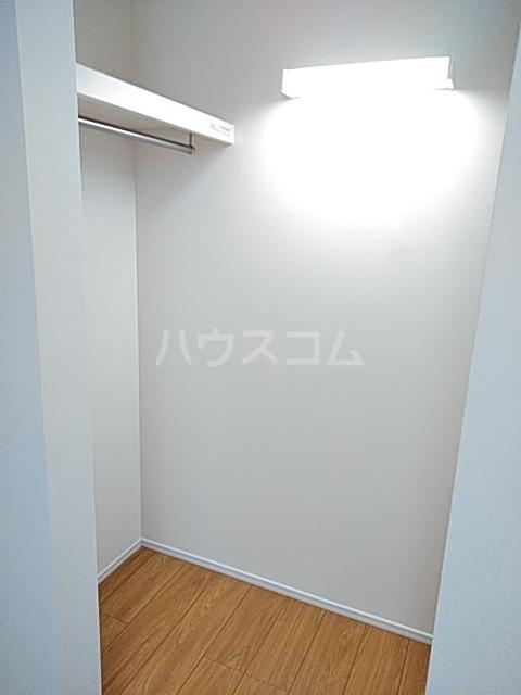 Cielo D号室の収納