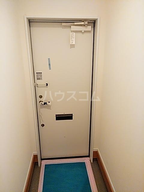 Cielo D号室の玄関