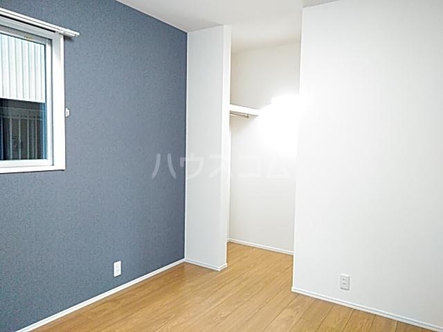 Cielo D号室のベッドルーム