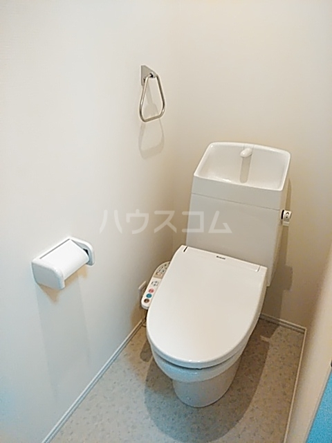 Cielo D号室のトイレ