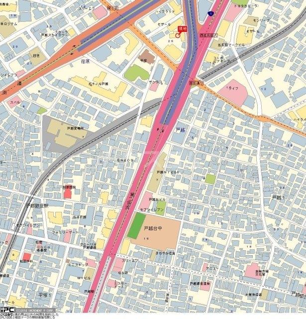 五反田ダイヤモンドマンション 916号室の地図