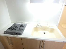 ベイサイドレジデンス桜木町 201号室のキッチン