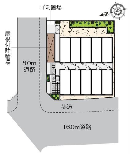 ヴィアロ高島平レジデンスA 201号室のその他
