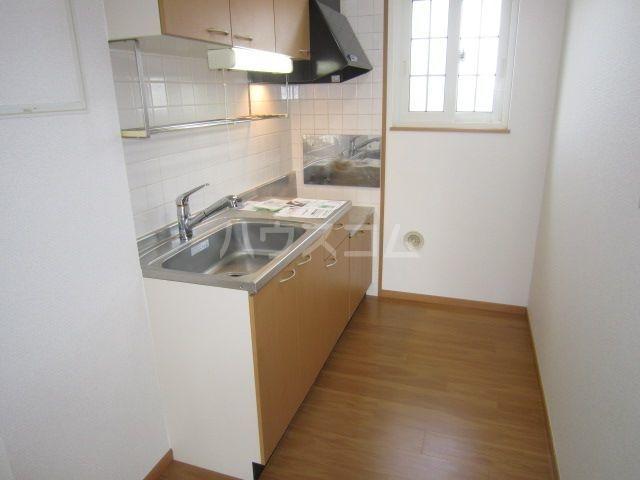 ラフレシールA 02010号室のキッチン