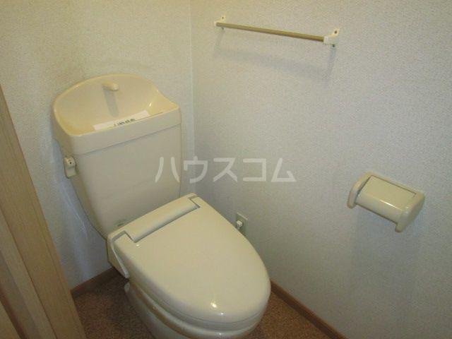 ラフレシールA 02010号室のトイレ