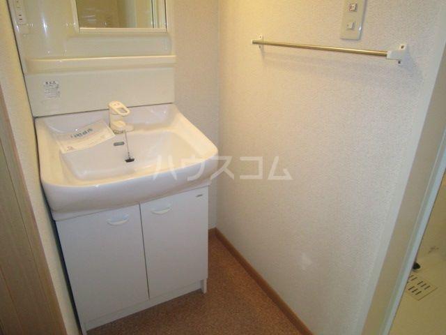 ラフレシールA 02010号室の洗面所